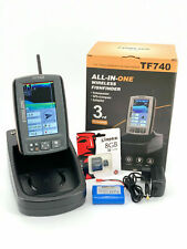 Toslon TF740 GPS Autopilot Fishfinder With Battery And Charger NEW