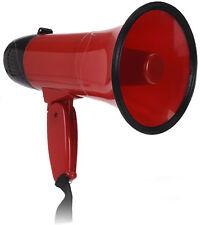 Megafon mit 2 Funktionen 23x14cm -  Megaphon mit Sirene - Bullhorn Sprachrohr