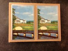 Vintage Congress Canasta Playing Cards in original Marshall Field's box