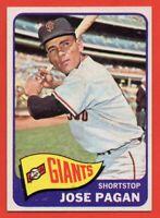 1965 Topps #575 Jose Pagan MINT San Francisco Giants FREE SHIPPING