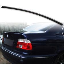 Fyralip Rear Trunk Lip Spoiler For BMW E39 5-Sreies / M5 Unpainted Matte Black