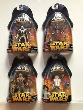 Sneak Preview Star Wars Revenge of the Sith General Grievous,Tion,Wookie,R4-G 9