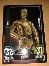 Force Attax Star Wars Serie Movie 3 Star-Karte 211 C-3PO Sammelkarte Cards