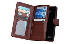 Fundas y carcasas brillantes de piel para teléfonos móviles y PDAs LG