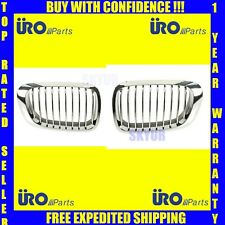 BMW Front Hood Grille Assembly SET E46 323ci 325ci 328ci 330ci M3 Coupe URO