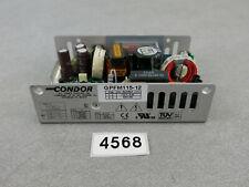 CONDOR GPFM115-12 12V 9.6A DC POWER SUPPLY