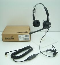 ADD55-07 Headset with 3.5mm plug for Alcatel 4028 4029 4038 4039 4068 8028 8029