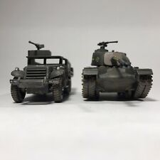 Corgi Fighting Machine M48 PATTON TANK and M3 HALF TRACK
