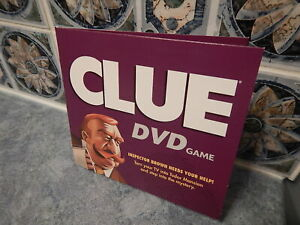 2006 CLUE DVD Game Replacement Part: DVD & Sleeve