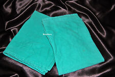 50 Lb. Box of Tight Weave Green Huck Surgical Towels-Glass Cleaning-Shop Towels