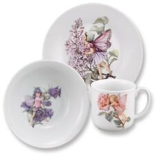 Flower Fairies Tea Cup Plate & Bowl Set for Children Reutter Porcelain 75.516/1