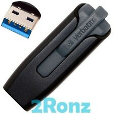 Verbatim V3 32GB 32G USB 3.0 Flash Pen Drive Disk Memory Thumb Stick Slide Black