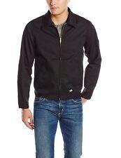Dickies Men's Big-Tall Unlined Eisenhower Jacket Black X-Large