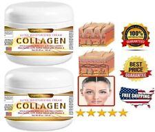 COLLAGEN & ELASTIN SKIN CREAM Firming Face Care Anti Aging Wrinkle Beauty 8 oz.