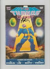 Thanos Quest #1 + 2 (1990, Marvel) NM (9.4) 1st Prints/Signed by Jim Starlin !!!
