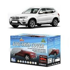 Car Cover Suits BMW X3 & X5 4WD SUV 4.66m to 5.1m WeatherTec Ultra Non Scratch