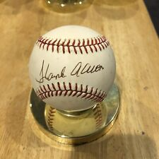 Hank Aaron Signed Autographed Official National League Baseball