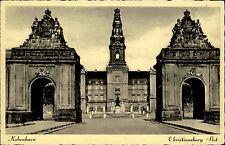 København Kopenhagen Dänemark s/w Postkarte ~1920/30 Chritiansborg Slot Schloss