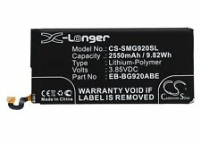 Battery for Samsung Galaxy S6  SM-G920F  SM-G920  SM-G9200  SM-G9208 SM-G920A