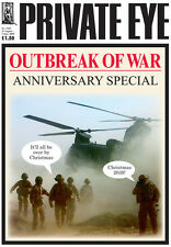 PRIVATE EYE 1243 - 21 Aug - 3 Sep 2009 - British Army - OUTBREAK OF WAR ANNIVERS