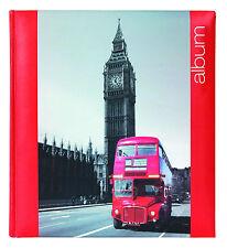 Large Interleaved Photoboard Photo Storage Album 60 Pages -London Design