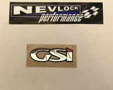 GENUINE NEW VAUXHALL GSI BOOT BADGE ASTRA G & ZAFIRA A 1998-2005 Z20LET