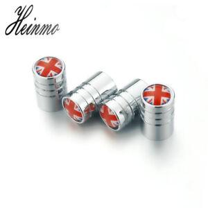 Chromed Tire Wheel Valve Stem Air Cap Caps Cover For Mini Cooper R55 R56 R57 R60