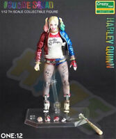 New Suicide Squad Harley Quinn 1/12 PVC Figure Model 15cm In Box