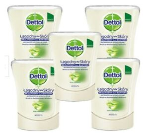 Dettol No Touch Hand Wash System Refills Aloe Vera 250ml - buy 3, 5 or 10