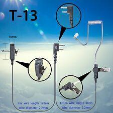 2-wire Headset Earphone mic For Icom IC-F11 IC-F12 IC-F3000 IC-F14 walkie talkie