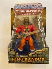Masters Of The Universe Classics KING RANDOR 2009 First Run MOC MOTUC HE-MAN