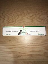 New Enzadent Enzymatic Pet Toothpaste for Dogs & Cats Chicken Flavor 3.2oz