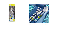 DISNEY STORE MICKEY MOUSE FLATWARE SET OF 12 SUMMER FUN NEW IN BOX