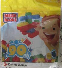 Mega Bloks 734 Mini BLOCKS with 90 large pieces Let your imagination Grow NEW
