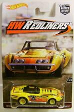 1969 '69 CHEVY CORVETTE RACER HW REDLINERS CAR CULTURE HOT WHEELS DIECAST 2016