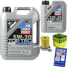 Inspection Kit Filter LIQUI MOLY Oil 6L 5W-30 For Mercedes Benz a Class W176