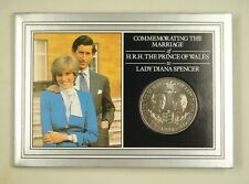GUERNSEY Commemorative Coin Card for Wedding of Prince Charles and Lady Diana