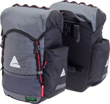 Axiom Seymour Oceanwave P35 Waterproof Bicycle Pannier Bags Pair 35l - Recycled