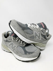 New Balance 990 V3 Athletic Running Shoes M990GL3 Gray Made In USA Men's 8.5 D