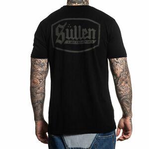 Sullen Men's Lincoln Premium Short Sleeve T Shirt Black Clothing Apparel Tatt...