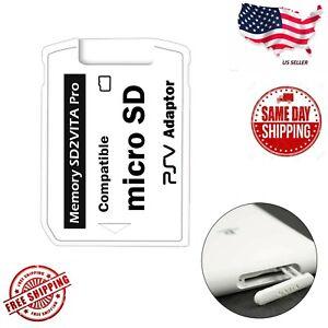 NEW V5.0 SD2VITA Micro SD Support TF Memory Card 32GB,64GB,128GB, 256GB