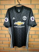 Manchester United Authentic Jersey 2018 Player Issue Away L Shirt B30978 Adidas