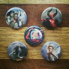 "5 1"" Legend Movie 1985 Tim Curry Tom Cruise Ridley Scott pinback badges buttons"