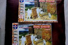 2 x Ritter Siege Engines Part 2 - Burg Belagerung - Orion 72016 1:72 Sammlung xx
