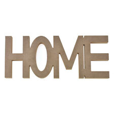 Inspirational Home DIY Rustic Wood Craft, Brown, 11-3/4-Inch