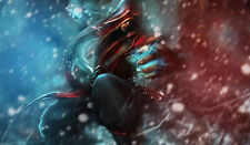 141 League of Legend Lee Sin CUSTOM PLAYMAT ANIME PLAYMAT FREE SHIPPING