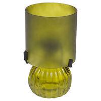 Tea Light Holder Frosted Glass Lamp Home Decor Tealight Candle Holder Lantern
