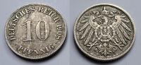 Deutsches Reich - Kaiserreich - 10 Pfennig - 1908 D