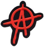 A Anarchy Punk Anarchie Antifa Punker Kutte Aufnäher Aufbügler Patch Sticker NEU