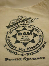 Motorcycle 2001 Easyriders Rodeo Tour Mechanic Clothes BAM Russ Brown Founder